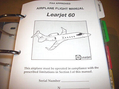 Bombardier LearJet Model 60 Flight Manual