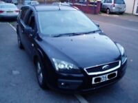 Breaking 2005 Ford Focus 1.8Tdci Estate. Black. All Parts Available.