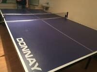 Full size professional Donnay table . Table tennis ping pong