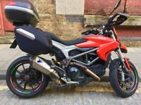 Ducati Hyperstrada 821 - Termigioni titanium exhaust - just serviced
