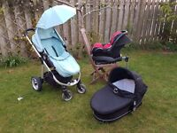 iCandy Apple/ Maxi Cosi Pushchair Travel System from birth