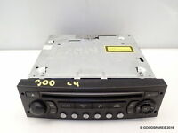 Stereo Head Unit Cd Player - Needs Coding -05 Citroen C4 1.6 Hdi (ref.300) 5 Do - citroen (genuine eo) - ebay.co.uk