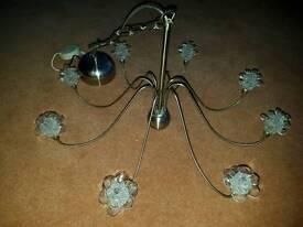Gorgeous 8 arm chandelier