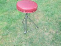 Drums - Premier Drum Stool - Red Top