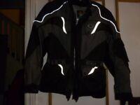 Motorbike jacket large size was £65 now £15