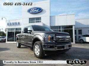 2018 Ford F-150 *NEW*0% FINANCING! CREW XLT*H.D.PAYLOAD*3.5L ECO