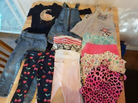 Baby girl clothing bundle 18-24 months