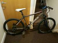 Carrera Vengeance mountain bike with 26 inch wheel and 19 inch frame
