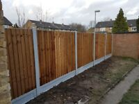 New Feather edge fence £90