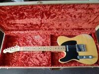Left Handed Fender Custom Shop Heavy Relic Telecaster