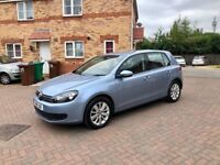 VOLKSWAGEN GOLF 1.6 TDI BLUEMOTION FINAL EDITION, ONE PREVIOUS OWNER, MOT 12 MONTHS, TAX £20
