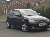 2005 VAUXHALL CORSA 1.4 TWINPORT*EXCLUSIV-MODEL*69K-MOT-GOOD RUNNER.LEATHER HEATED SEATS.PX WELCOME