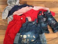 Next 0-3 month old girls bundle
