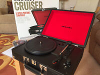 Crosley Cruiser 3 Speed Portable Turntable