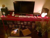 IKEA high gloss console/ media desk/ dressing table