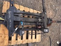 MERCEDES SPRINTER FRONT SUBFRAME AND SUSPENSION 2006-2010