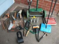 Various hand tools & bits for jobs