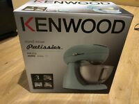 Brand new in box (never taken out) Kenwood Patissier Food Mixer in teal (great colour!)