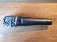 Shure Beta 57A mic