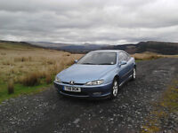 Peugeot 406 Coupe V6 Auto.Rare high Performance Pininfarina Masterpiece/Collecters Car