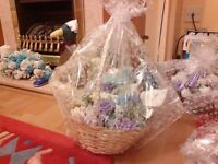 floral baskets made to order