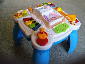 Leap Frog Learn and Groove Musical Activity Table.