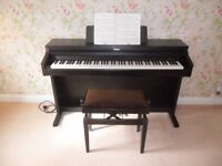 Roland HP-2e Digital Piano and Stool for Sale