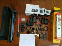 Canon 7D Canon 70D and lenses ALL MY GEAR