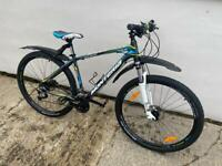 Brand new adults mountain bike cycled once £600