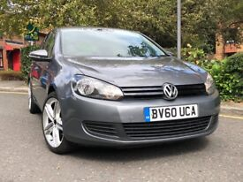 MUST SEE!! VOLKSWAGEN GOLF HATCHBACK 1.2 TSI S 2010 (60) 5 DOOR HPI CLEAR WITH ALLOYS