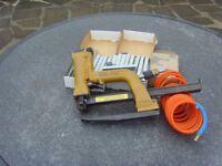 compressed air staple gun