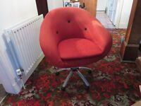 Armchair, swivel type, 1960/70 era