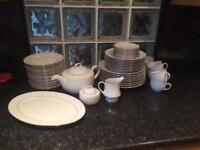 WHITE DINING SET £40
