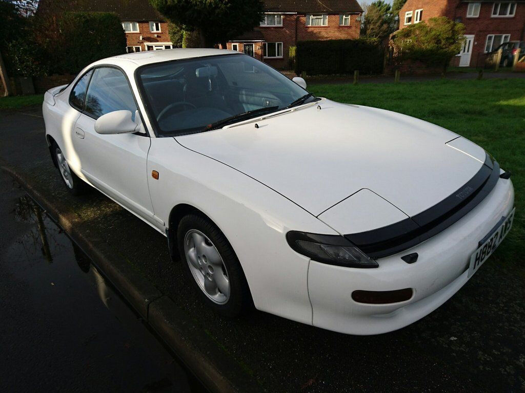 1990 toyota celica white in crawley west sussex gumtree. Black Bedroom Furniture Sets. Home Design Ideas