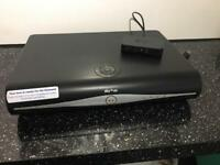 Sky+ HD box with WiFi connection and remote control