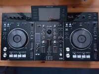 Pioneer XDJ-RX with Decksaver Cover
