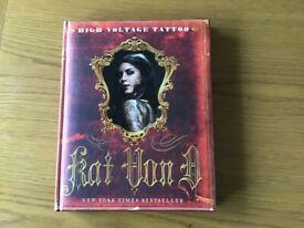 Kat Von D,High Voltage Tattoo book