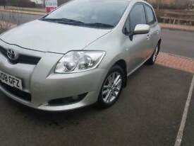 TOYOTA AURIS,TR,12MONTHS MOT,SERVICE HISTORY AND CHEAP ON FUEL, ,REVERSE SORNSER £2150 ONO