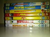 DVD bundle set of 7