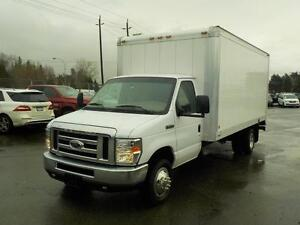 2008 Ford Econoline E-450 Dually Cube Van Gas