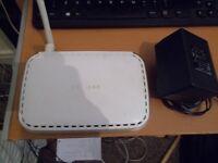 NETGEAR 54Mbps Wireless ADSL Modem Router DG834G