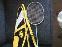 Carlton Badminton Racket and Case