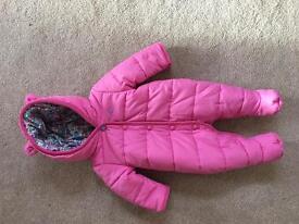 Joules Snow Suit size 0-3 months