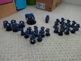 Space marine army Warhammer 40k