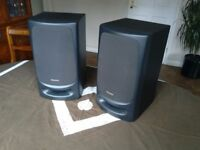 Superb Technics SB-CH404 3 way Hi Fi Speakers. 80w Quality Sound & in Excellent condition.