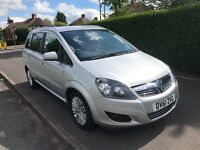 2011 (61) Vauxhall Zafira Excite Mpv 7 Seater top spec model 42,000 miles FSH long MOT !a must view!