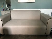 Made 2 seater sofa - beige - almost new