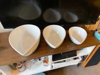 Porcelain Mixing Bowls