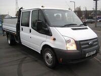 ford transit 350 crew dropside full service history one owner mot warranty