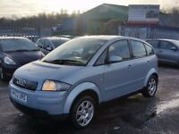 2002 (52 Reg) Audi A2 1.4 Petrol For £895 with 12 Months Mot on Sale